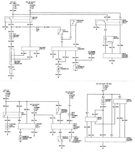 1991 fj80 wiring diagram basic ignition coil wiring wiring