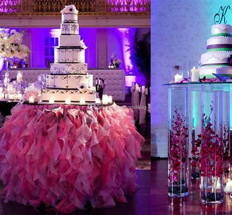 quinceanera themes for june ruffled tutu table skirts handmade wedding tablecloth