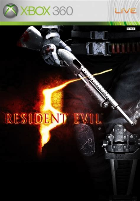 resident evil  xbox  box art cover  simplewig