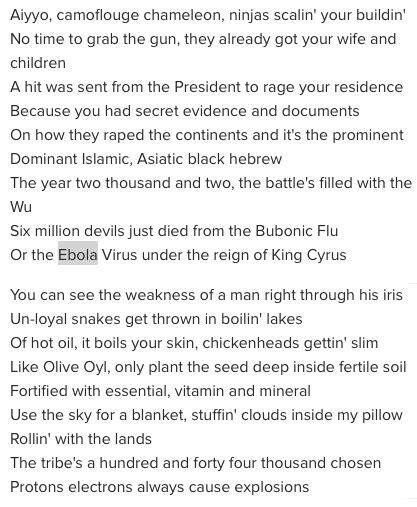 virus lyrics free to find 33 gza s 4th chamber and ebola virus