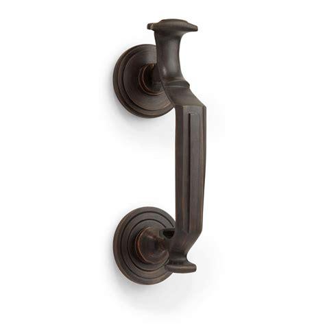 Rubbed Bronze Door Knocker by Signature Hardware 8 Quot Doctor S Door Knocker In Rubbed