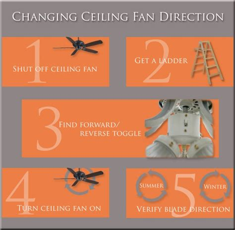 Which Direction Should A Ceiling Fan Turn In Winter by Ceiling Fan Direction