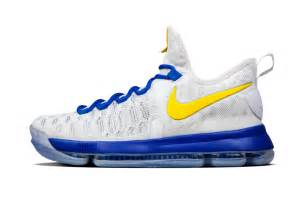 golden state warriors color shoes nike kd 9 golden state warriors colors hypebeast