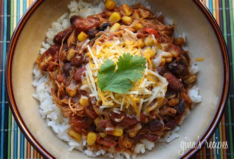 crock pot chicken taco chili skinnytaste