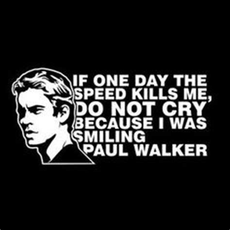 Paul Walker Bike Stickers by Details About Paul Walker Thought You Could Leave Sticker