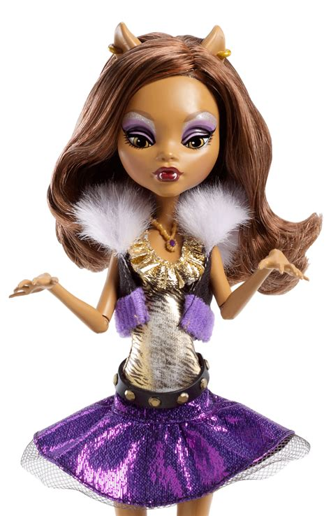 doll wolf high ghouls alive clawdeen wolf doll co uk
