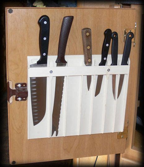 kitchen knife storage ideas 19 best kitchen knife storage images on pinterest