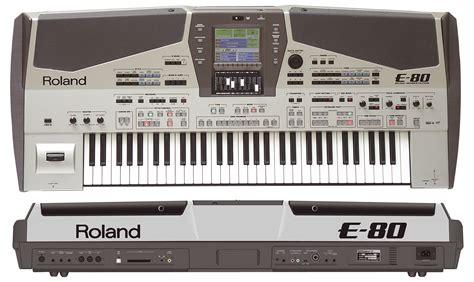 Keyboard Roland E Series roland e80 arranger keyboard australian musician