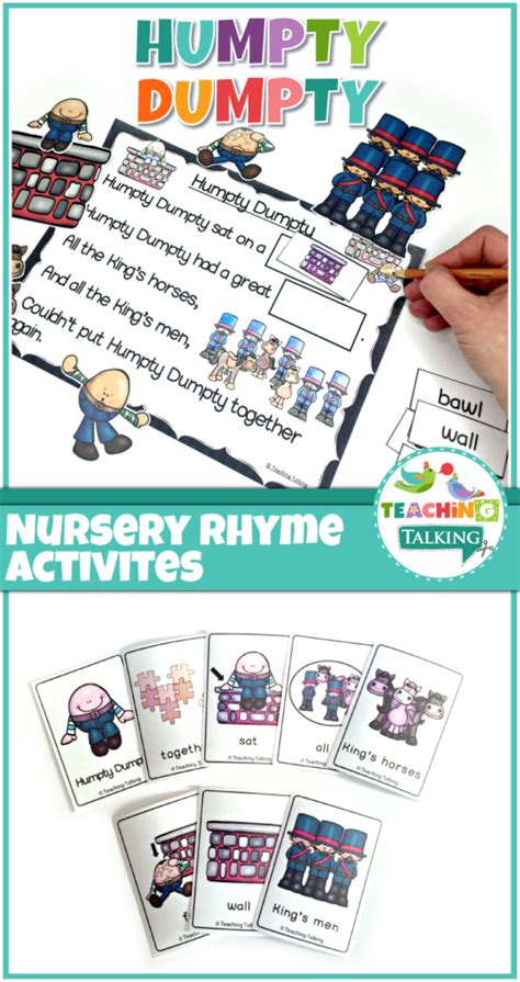 full version of humpty dumpty nursery rhymes activities for humpty dumpty teaching talking