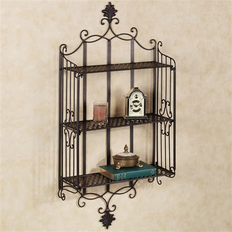 metal black wire shelving home decorations