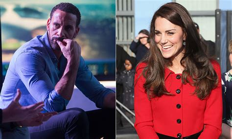 rebecca prince hot rio ferdinand talks about wife rebecca for kate middleton