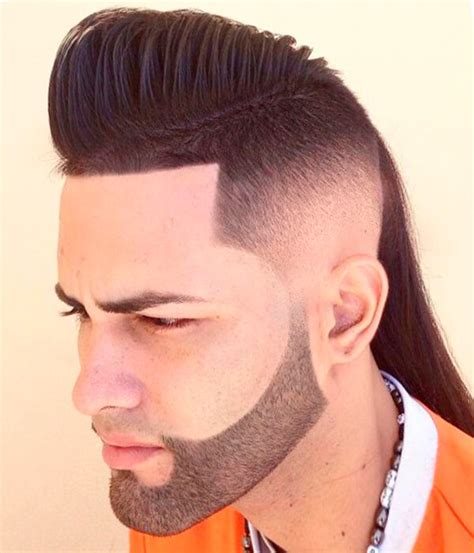 pics haircut side mullet men undercut long hair braidedhairstyles us hairstyle