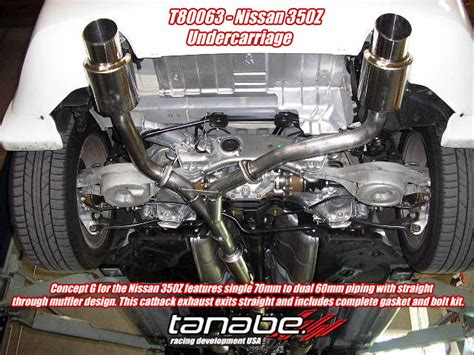 how much horsepower does a nissan 350z tanabe exhaust horsepower increase nissan forum