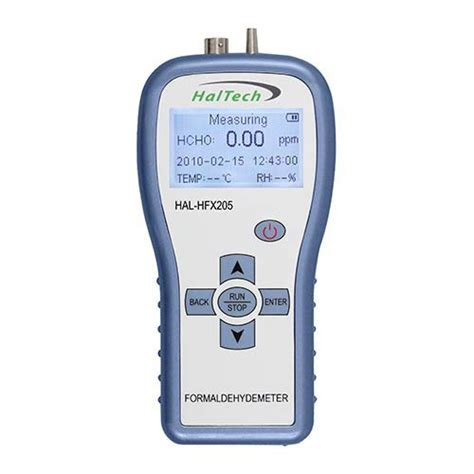 Air Quality Meter Air Quality Meter Hfx205 Pce Instruments