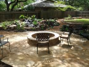 patio pits triyae water and features for backyards