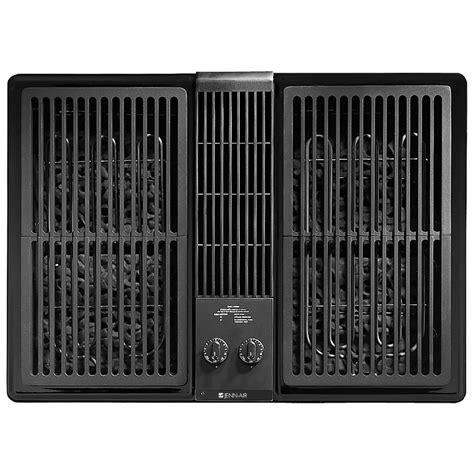 Flat Top Cooktop Designer Line Lanai Outdoor Electric Downdraft Grill 30