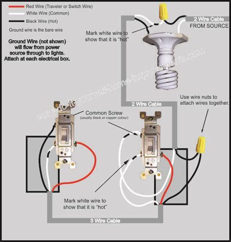 Wiring Diagram For 3 Way Light Switch Bookingritzcarlton