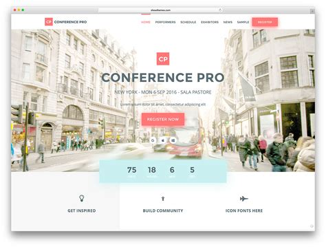 store meeting themes 30 awesome wordpress themes for conference and event 2018
