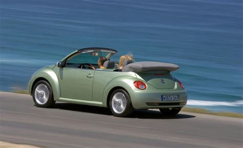 new volkswagen beetle convertible car and driver
