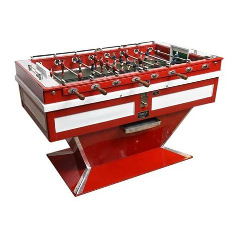 Foosball Table For Sale by Midcentury Coin Operated Foosball Table For