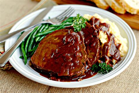 barefoot contessa eye round roast german style pot roast sauerbraten