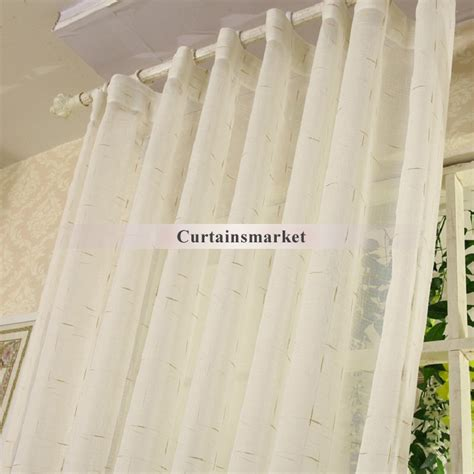 gold linen curtains simple sheer linen curtain with the decoration of gold lines