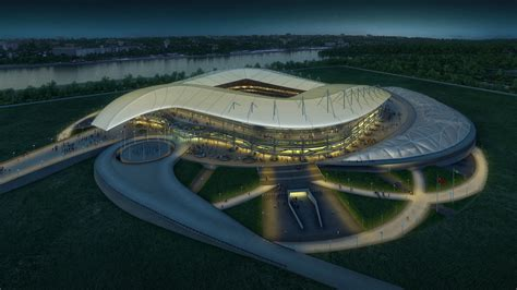 2018 world cup stadium in rostov russia populous
