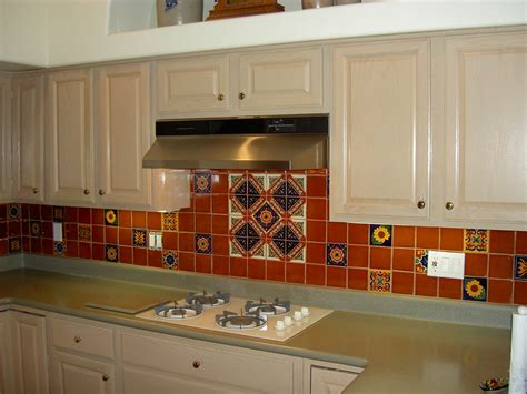 mexican tile kitchen backsplash mexican tile kitchen backsplash expressive tile flickr