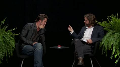 zach hollywood news zach galifianakis interviews brad pitt for between two