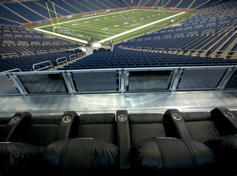 what are club seats at ford field detroit lions dreamsuites seating solutions