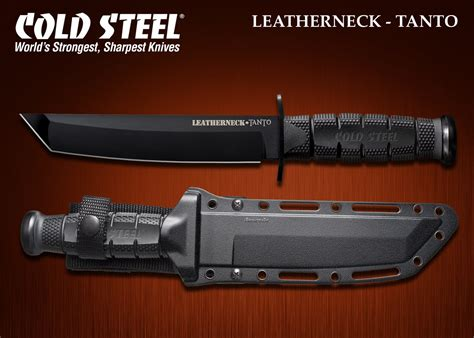 cold steel chaos uk cold steel leatherneck tanto fighting knife w secure ex