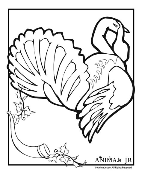 thanksgiving coloring pages nick jr turkey coloring page with thanksgiving decoration animal jr