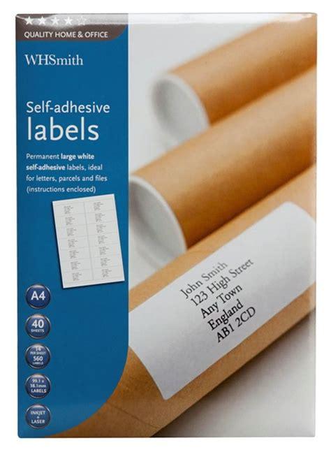 Whsmith Label Templates