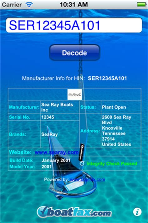 boat hin search hin decoder driverlayer search engine
