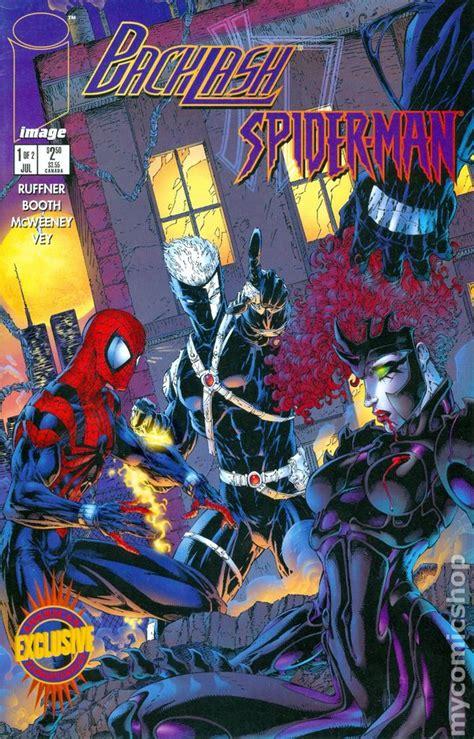 backlash spider man  comic books
