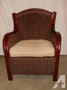 pier 1 wicker king armchair for sale in keedysville