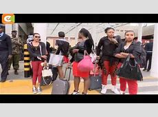Koffi Olomide caught on camera kicking a woman at JKIA ... Kenyatta Airport