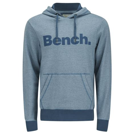 bench mens hoodie bench men s patterson hoody orion blue mens clothing zavvi com