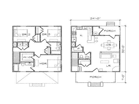 foursquare floor plans simple square house plans simple square house floor plans