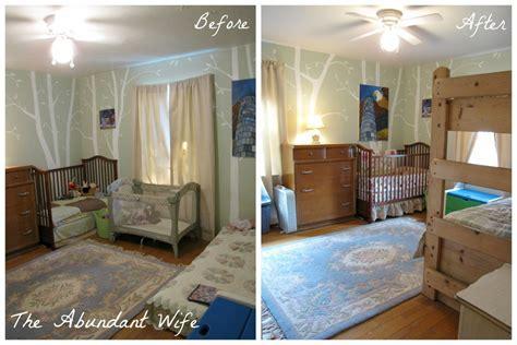 3 Kids in 1 Bedroom: New Bunk Beds!   The Abundant Wife