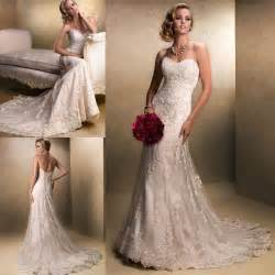 wedding dress ebay new white ivory lace wedding dress bridal gown stock size 6 8 10 12 14 16 ebay