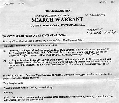 Probable Cause Search Warrant 301 Moved Permanently