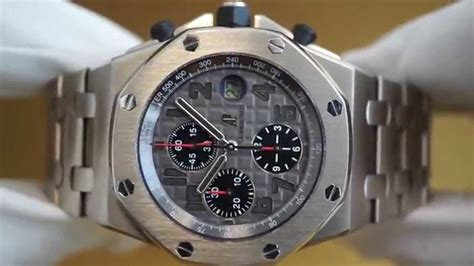 Ap Royal Oak Chrono Pride Of Indonesia Titan Grade Aaa audemars piguet royal oak offshore chronograph titanium