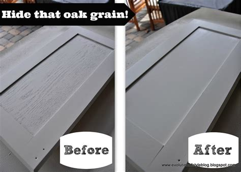 how to paint oak cabinets white without grain showing evolution of style tips tricks for painting oak