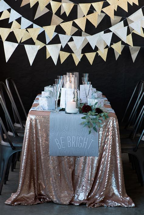 new year table cloths 12 tips for a golden new years