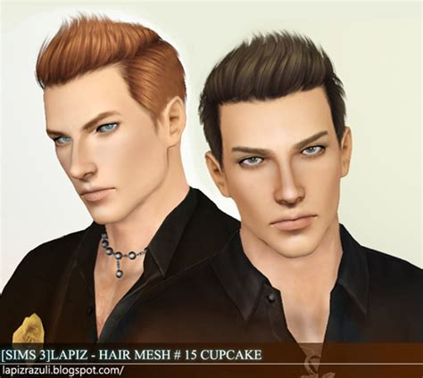 download hair male the sims 3 my sims 3 blog lapiz lazuli zombrex and cupcake hairs for