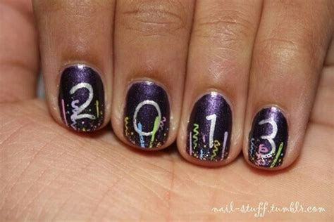 new year nail design awesome new year nail designs