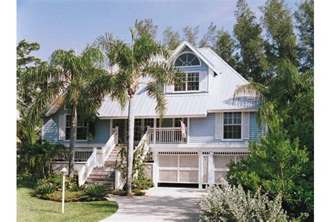 Waterfront Cottage Plans Eplans Cottage House Plan Key West Island Style 2257