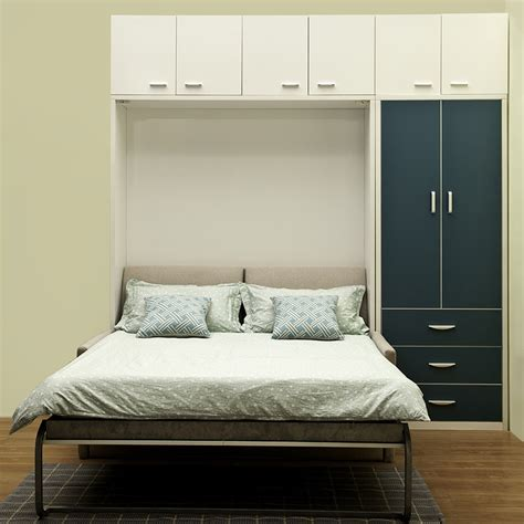 murphy bed queen size stylish transforming furniture queen size murphy bed with sofa