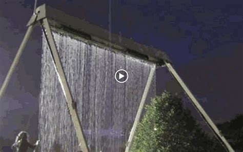 rain swing rain fall swing set the experience pinterest
